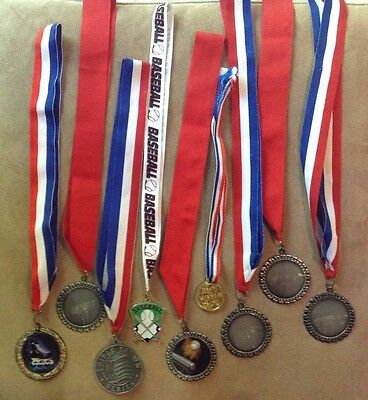 9-Piece Set of Sports Medals!