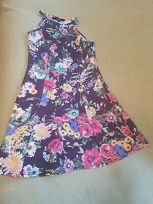 Girls Cosmic Kids Floral dress age 9 years