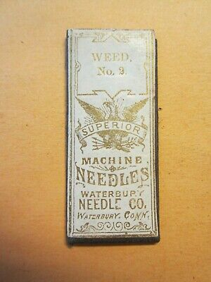 3 Weed Sewing Machine Needle, Size #2, 1 Pack of 3