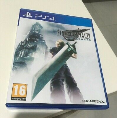 Final Fantasy VII Remake Sony Playstation PS4 Game