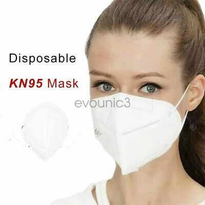 10 / 20 / 50 Pack KN95 Face Mask Respirator Medical  5-Layer K N95 Protection