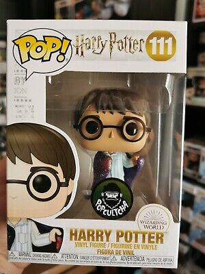 Harry Potter - Harry with Invisibility Cloak Exclusive Funko Pop! Vinyl Figure