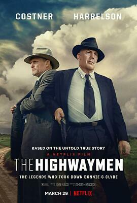 The Highwaymen DVD (2019) BRAND NEW ****FREE SHIPPING****