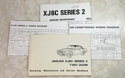 XJ6C Owners Manual And Charts.