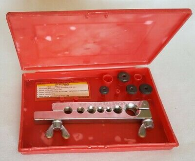 Chrome Double Tube Flaring Kit With Red Box