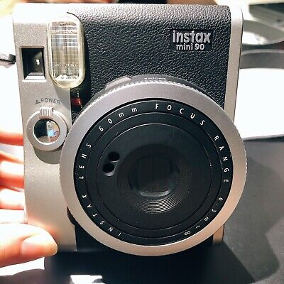 Fujifilm Instax Mini 90 Neo Classic Film Camera - Black