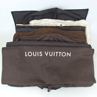 Authentic LOUIS VUITTON and other brand garment cover 9 pieces set Other nyl...