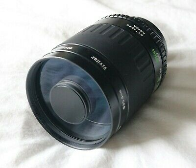 Vivitar 500MM F/8 Mirror Lens with Canon EF adapter