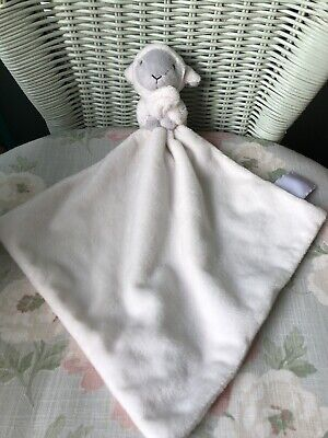 Little White Company Sheep Lamb Comforter Blankie Soft Toy Soother Doudou