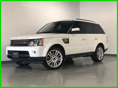 2013 Land Rover Range Rover Sport HSE LUX 2013 HSE LUX Used 5L V8 32V Automatic AWD SUV Premium Moonroof