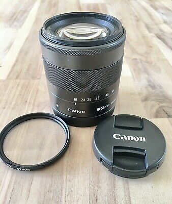 Canon EF-M 18-55mm f/3.5-5.6 IS STM Lens for EOS M Cameras