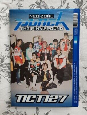 UK NCT 127 Neo Zone: The Final Round (Punch) 1st Player version / no photocards