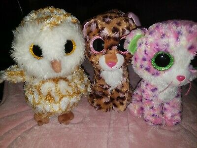 Ty Beanie Boo Lot -3 in the Bundle  . Condition is Used.