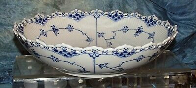 royal copenhagen full lace china serving bowl denmark