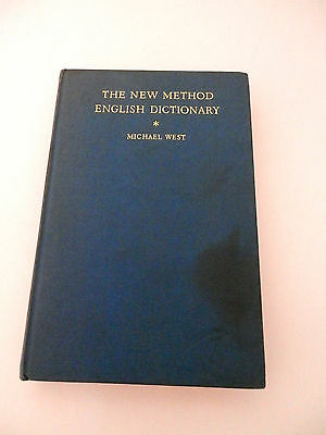 The new method english dictionary (fourth edition) - Michael West - Longmans