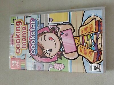 Cooking Mama: Cookstar Nintendo Switch Brand New Sealed