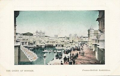 1908 Franco-British Exhibition The Court of Honour Honor