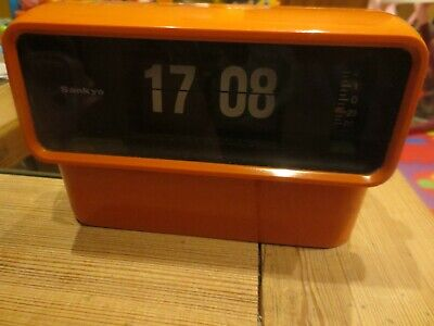 Sankyo vintage flip digital clock model 240