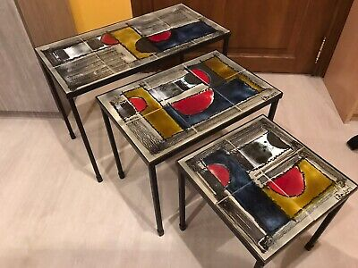 Tables Gigognes Design Vintage De Juliette Belarti