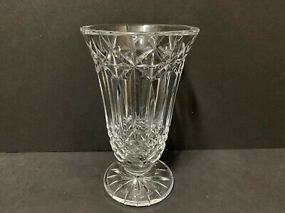 """Perfect Brilliant Waterford Balmoral Floral Vase    8 1/2"""" X 5 1/8"""""""