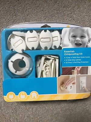 Safety 1st Essentials Child Proofing Kit 46pc Door Knob Covers Plug Protectors