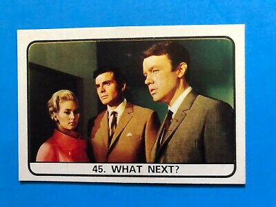 The Champions TV Series Trading Card Set 1960's Complete
