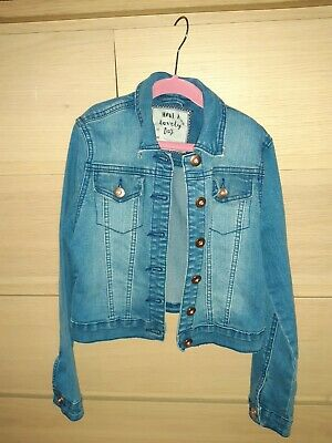 Girls TU Denim Jacket Age 9-10