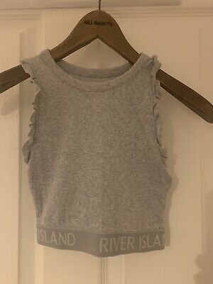 River Island Kids Size 7 - 8 Years Girls Cropped Top