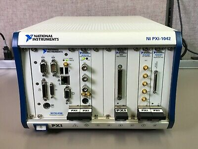 NATIONAL INSTRUMENTS NI PXI-1042 with PXI-8186 PXI-5122 PXI-2590 PXI-6251 2503
