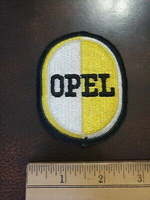 Vintage Advertising Employee Patch- Opel
