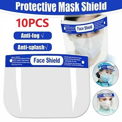 10x Full Face Shield Cover Anti-Splash AntiFog Safety Eye Protector USA Stock
