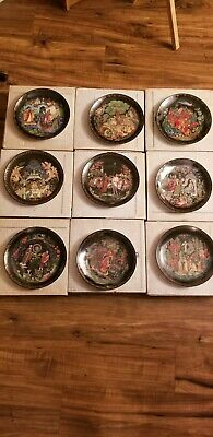 Bradford Exchange Russian Legends Collection Plates. Set of 9