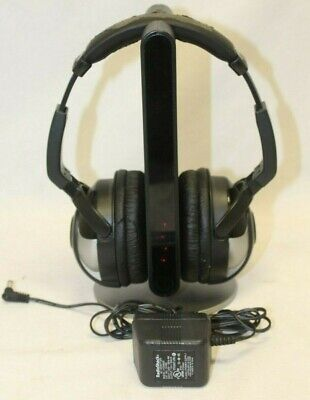 Radio Shack 33-280 Wireless Infrared Headphones With Base