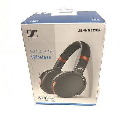 Sennheiser HD 4.50R Wireless Bluetooth Over-Ear Headphones - Black/Red