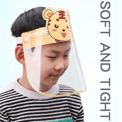 Cartoon Kids Face Shield Clear Anti-fog Splatter Full Cover Visor Protector