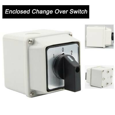 LW26-32A AC 600V 3 Position 3-Phase Universal Rotary Cam Changeover Switch UK