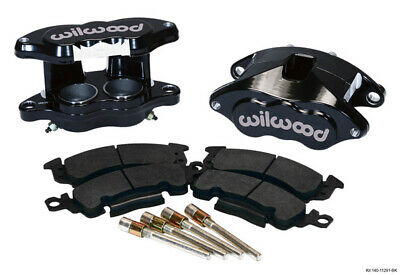Wilwood Front Caliper Kit D52/ Big GM Blk Powder