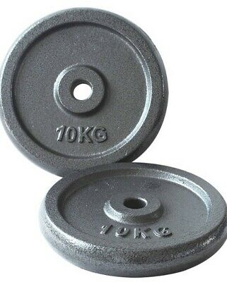 Opti Cast Iron Weight Plates - 2 x 10kg