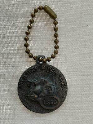 ESSO 1960's PUT A TIGER IN YOUR TANK KEY CHAIN #P288992