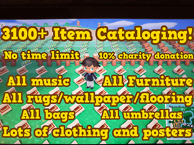 Animal Crossing New Horizons 🔥 Catalog Island 🔥 All Furniture 🔥 3100+ Items!