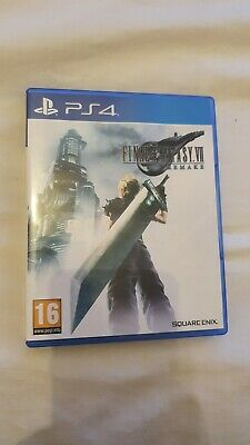 Final Fantasy VII Remake. FF7. Played Once. Brilliant Condition. PS4 Playstation
