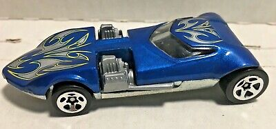 1969 Hot Wheels   Twin Mill  Blue Silver Flames VG CONDITION