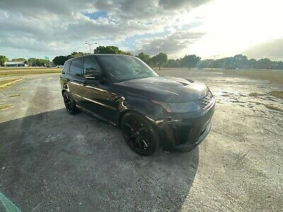 2019 Land Rover Range Rover Sport SVR Beautiful SVR new tires, brakes, and a MSRP of $128,000+
