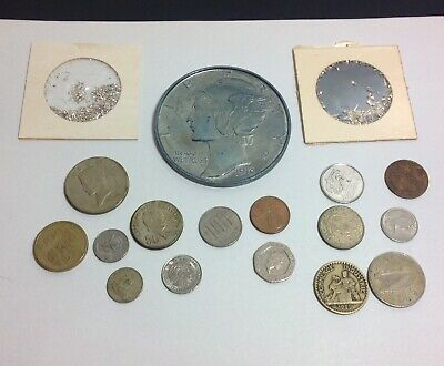 VTG Junk Drawer Coin, Token & Novelty Lot