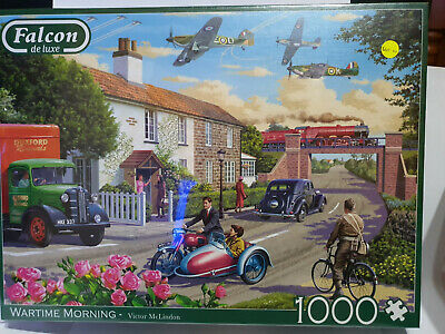 Jumbo Falcon 11221 Wartime Morning by Victor McLindon 1000 pce jigsaw puzzle