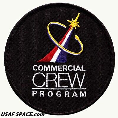 AUTHENTIC AB Emblem - COMMERCIAL CREW PROGRAM - NASA SPACEX ISS SPACE PATCH MINT