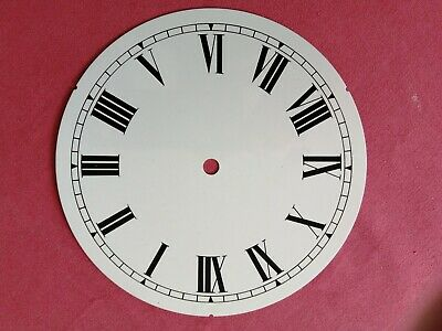 Replacement 7 Inch Dial face for Fusee Dial / smaller American Wall Clock