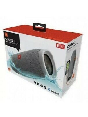 JBL Charge 3 Waterproof Portable Bluetooth Speaker - Gray Color