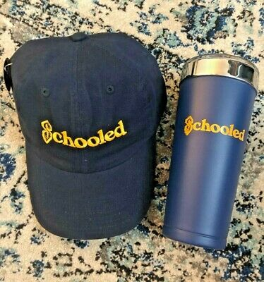 ABC Television SCHOOLED The Goldbergs Cast & Crew Wrap Gifts Hat Cap & Tumbler!