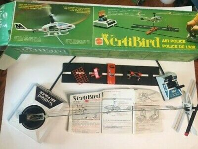 Mattel Canada Vertibird Air Police Play Set 1974